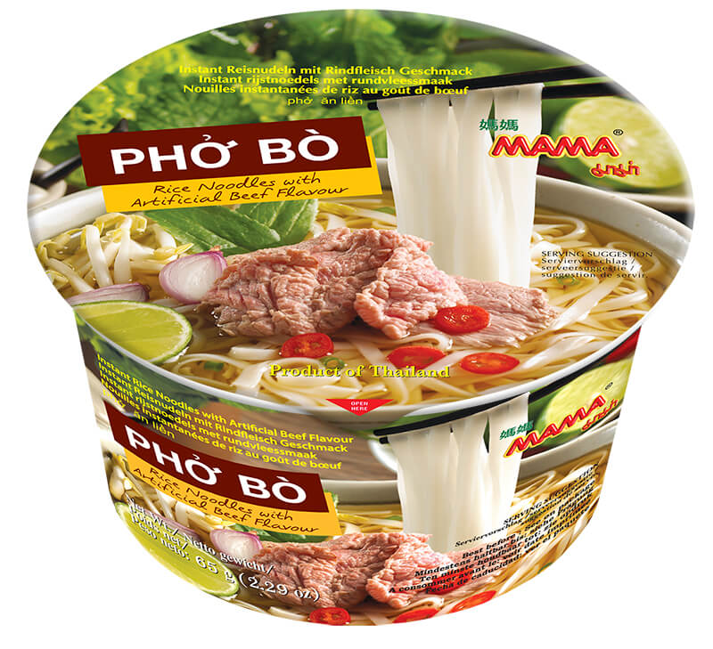 Mama Bowl Pho Bowl Beef flavour