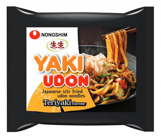 Nongshim Yaki Udon Noodle Teriyaki Flavour